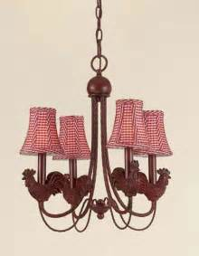 Country French Kitchen Ideas Rooster 4 Light Iron Chandelier Free Shipping Today