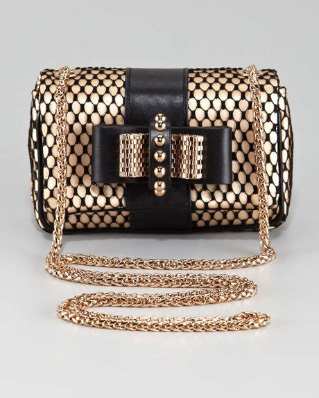 Christian Louboutin Satin Clutch Purses Designer Handbags And Reviews At The Purse Page by Christian Louboutin Sweet Charity Satinlace Clutch Bag In