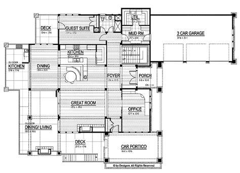 prairie style floor plans prairie style house plan 4 beds 4 baths 5751 sq ft plan