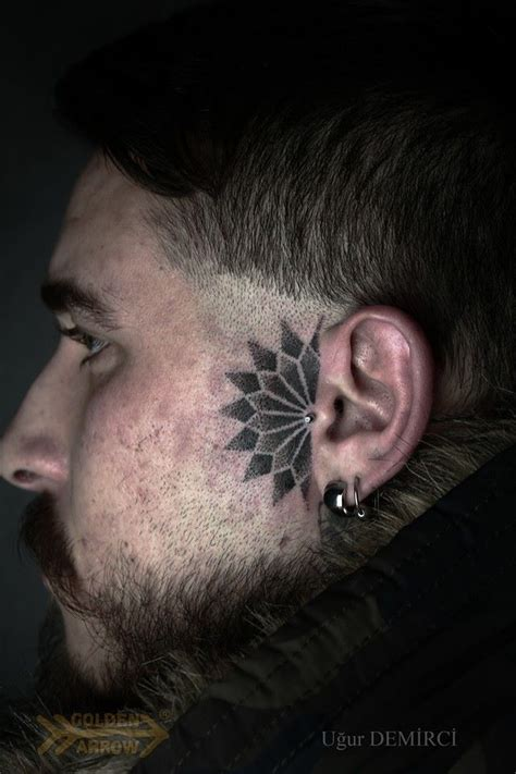 cool face tattoos 14 side tattoos thingz tattoos