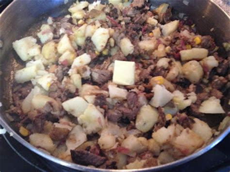add  potatoes   tablespoon  butter