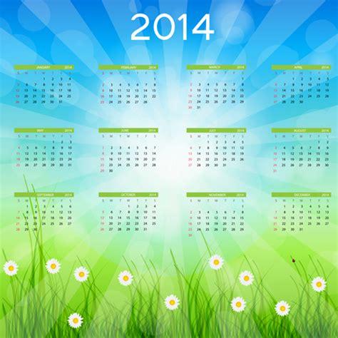 calendar design for new year 2014 new year calendar design vector free vector in