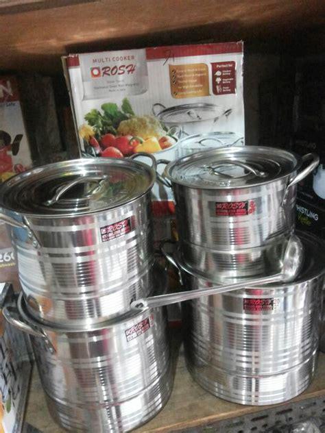 Termurah Stock Pot 4 Susun jual panci stock pot stainless steel vavinci supra maxim