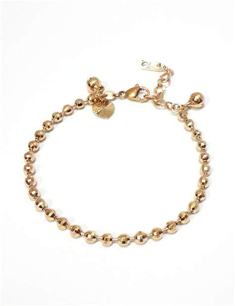 Gelang Tangan Perhiasan Xuping by Jual Gelang Tangan Xuping Biji Lada Emas Besar Modern