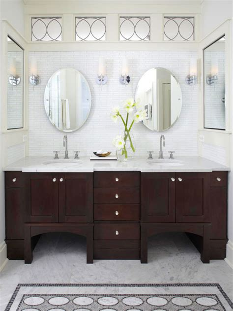 bhg bathrooms espresso cabinets contemporary bathroom bhg