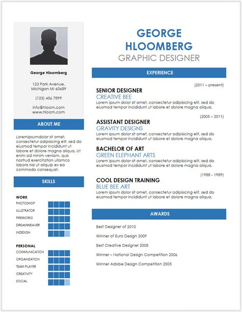 resume template strikingormat word download simple ms model job