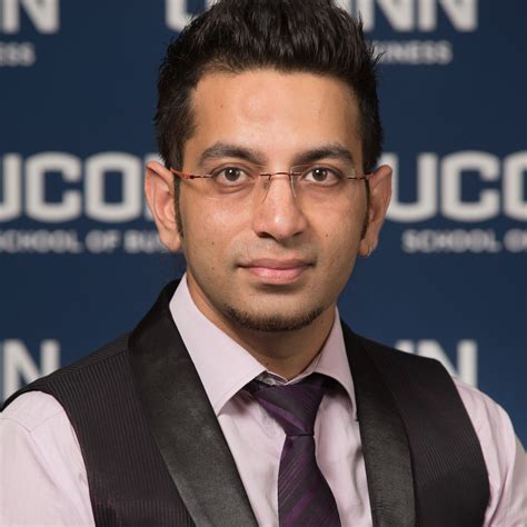 Mba Connecticut by Rishi Sharma Uconn Mba Program