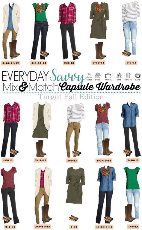 Mix And Match Wardrobe Pieces by Target Fall Capsule Wardrobe Fall Capsule Sleeve And