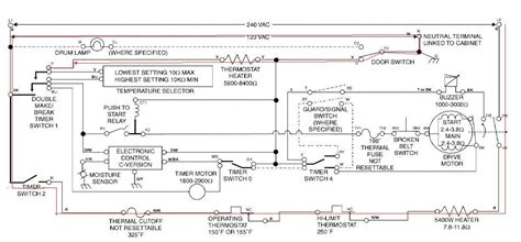 roper electric dryer diagram whirlpool dryer schematic