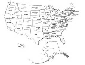 Us Map With States And Capitals by Miss Youmans Social Studies Class August 2011