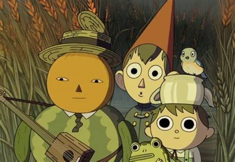 First Look Cartoon Network S Over The Garden Wall Mini The Garden Wall Network
