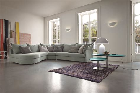 dall agnese corner fabric sofa with removable cover every collection