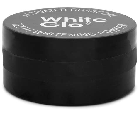 white glo activated charcoal teeth whitening powder