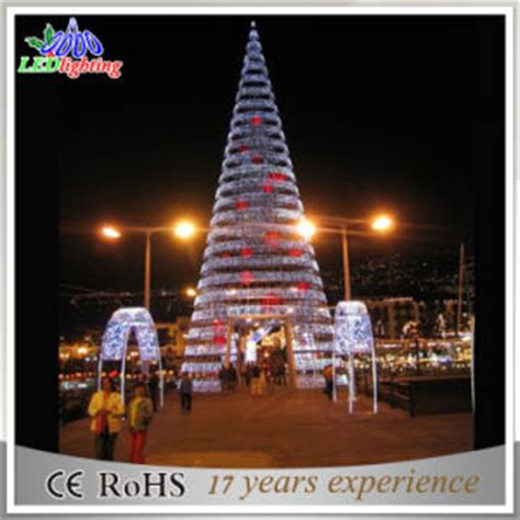 china giant outdoor 8m commercial led spiral christmas