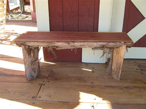 cedar slab bench by cy lumberjocks