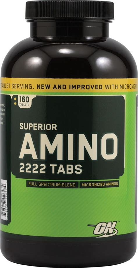 Suplemen Amino optimum nutrition amino 2222 total amino acid