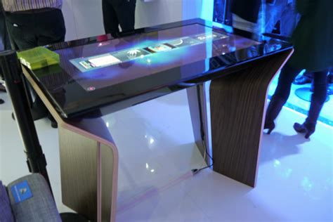 Architecture Desk by Microsoft S New Surface Interactive Table Sees Your Point