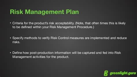 14971 risk management plan template risk management for devices iso 14971 overview