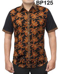 Batik So 200 Kode 1789 batik kombinasi kain polos rajapadmi batik kemeja batik