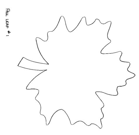 leaf pattern for preschool 7 best templates images on pinterest autumn leaves fall