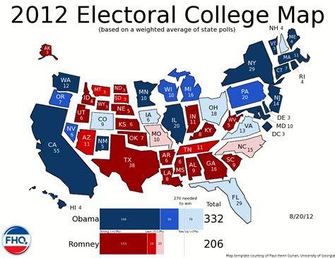 united states political party map 2012 latest 2016 electoral vote projections autos post