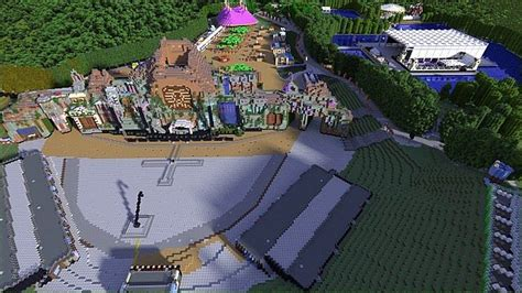 tomorrowland belgium map tomorrowland festival belgium 2013 minecraft project