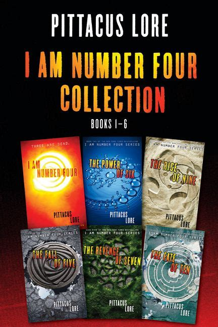 i am number four collection books 1 6 pittacus lore e