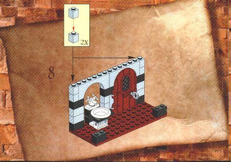 lego harry potter bathroom lego bathroom instructions 4712 harry potter