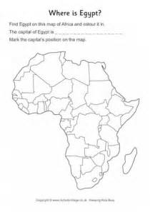 unit 6 africa outline maps with activities worksheets