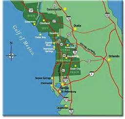 map of florida west coast images details uk
