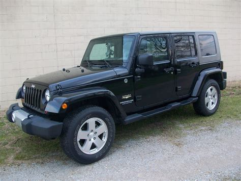 Picture Of 2008 Jeep Wrangler Unlimited Sahara 4wd Exterior