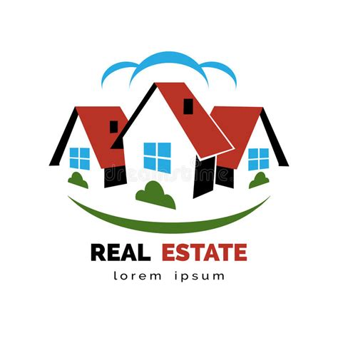 house or real estate logo stock vector image 49498543