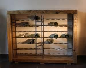 quot bacchus quot meuble range bouteilles artisanal 70 bouteilles