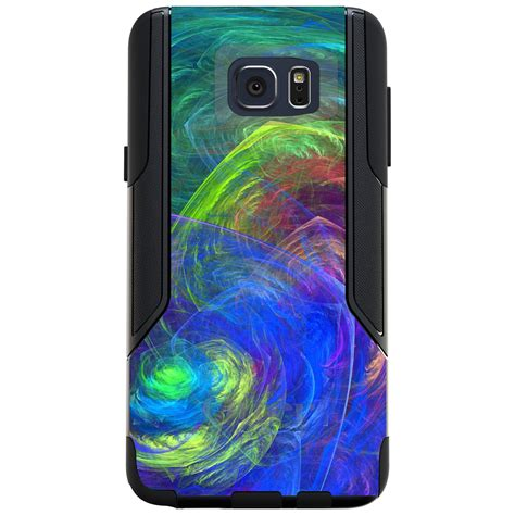 Blink Colorful Flash Light For Samsung S4 5 custom otterbox commuter for galaxy s4 s5 s6 s7 abstract color light swirl