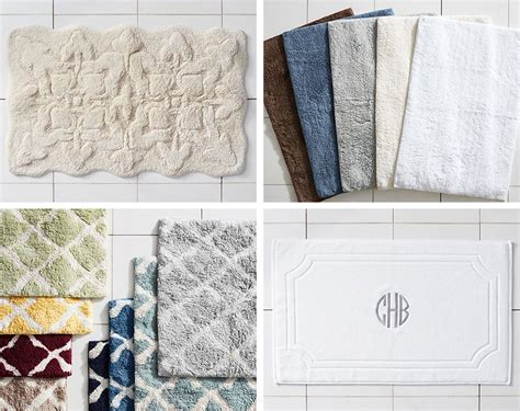 Pottery Barn Bathroom Rugs How To Choose The Bath Rug Pottery Barn