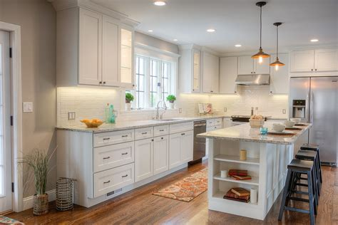 Remodeled Kitchen by Shaker Kitchen Designs Photo Gallery Conexaowebmix Com