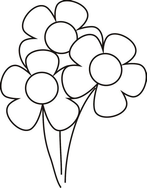 dibujo de cachorro con una flor en la boca para colorear imagenes para dibujar faciles