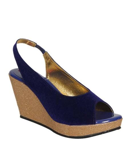 blingy sandals butterfly blue blingy wedge heel sandals price in india