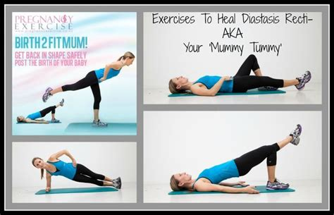 postpartum exercises for diastasis recti postnatal exercises to heal your mummy tummy aka