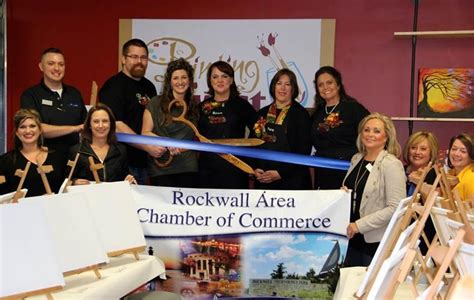 paint with a twist rockwall tx rockwall chamber welcomes painting with a twist blue