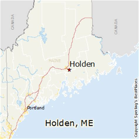 best places to live in holden maine