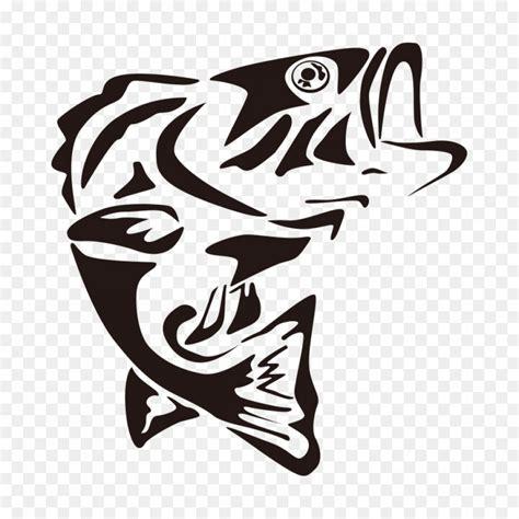 bass fish skeleton vector createmepink