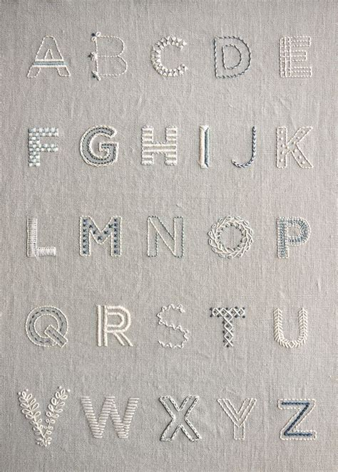 embroidery letters best 25 embroidery letters ideas on