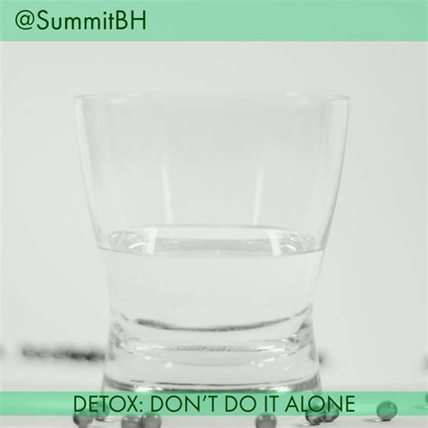 Detox Treatment At Home by Summit Detox Treatment Center Nj Explains Why You Shouldn