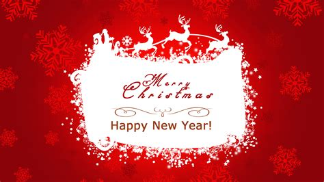 wallpaper christmas and new year red happy new year wallpapers 9to5animations com