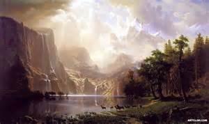 albert bierstadt oil paintings reproductions on artclon