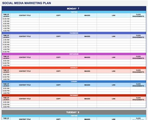 digital marketing calendar template marketing spreadsheet template spreadsheet templates for