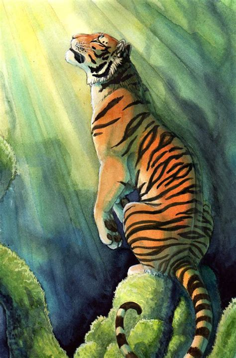 sketchbook rock the tiger mp3 35 amazing traditional paintings noupe