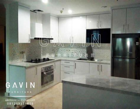 harga kitchen set hpl glossy kitchen set minimalis