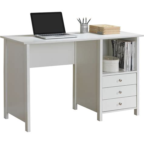 walmart desk with drawers white desk with drawers mariaalcocer com